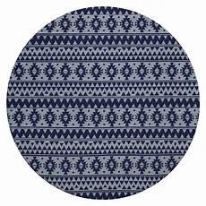 kayoom teppich rund 200 blau durchmesser 160 cm