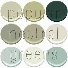 going green part ii neutral greens painting