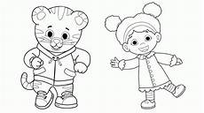 daniel tiger coloring pages best coloring pages for kids