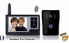 Interphone Portier Sans Fil Portier Vid 233 O Interphone Sans Fil 2 4ghz Moniteur Ecran 3