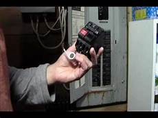 Ricksdiy Replacing Gfci 2 Pole Breaker On A Live Panel