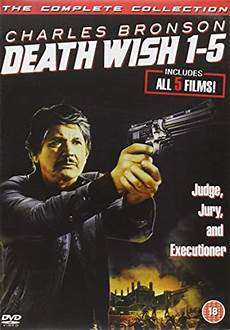 the death wish collection dvd cover 1974 1994 r1 custom