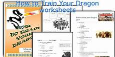 english teaching worksheets how to train your dragon