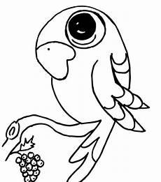 Ausmalbilder Tiere Papagei Ausmalbilder Papagei Malvorlagentv