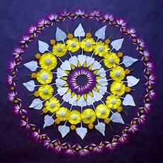 Mandala Blumen - new flower mandalas by kathy klein colossal