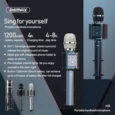 Remax Portable Handheld Microphone Stereo Sound by Remax K05 Portable Handheld Microphone Stereo Sound Built