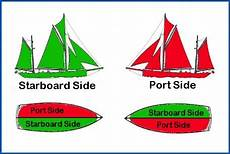 port side don t with teddy but if on your starboard should