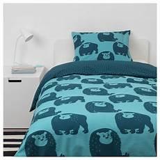 ikea djungelskog duvet cover and pillowcase s monkey blue kids bed linen luxury bedding