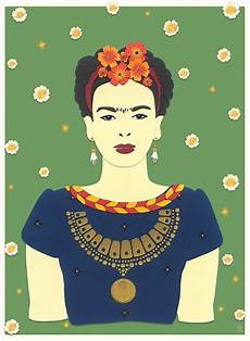 this beautiful contemporary paper portrait of frida