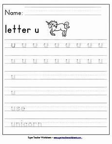 letter tracing worksheets u 23322 letter u worksheets recognize trace print