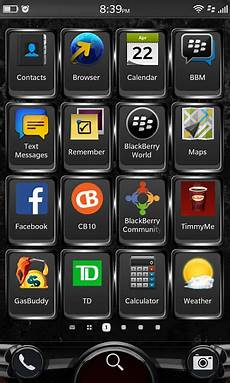 get blackberry 10 3 icon 10 2 1 using a black wallpaper blackberry at