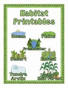 plants habitat worksheets 13564 habitat printable pack habitats animal habitats