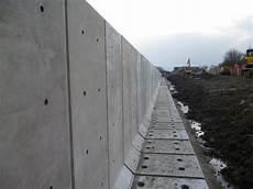 Precast Concrete L Shape Retaining Walls