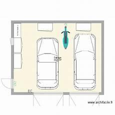 dimension garage 2 places garage 2 voitures plan 1 pi 232 ce 40 m2 dessin 233 par decand