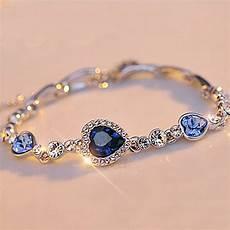 Summer Style Chain Bracelets Bangles Sliver Color Shiny