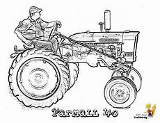 big tractor coloring pages to print free tractors