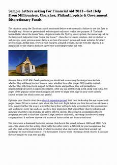 sle letter requesting donations for church design templates