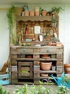 Paletten Streichen Garten - pflanztisch aus paletten diy wer es lieber farbig mag