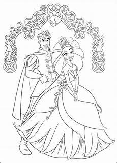 Malvorlage Prinzessin Hochzeit Prinzessinnen Und Prinzen Hochzeit Malvorlagen Disney
