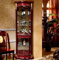 meuble d angle salle à manger whisky en verre en bois meuble d angle salle 224 manger