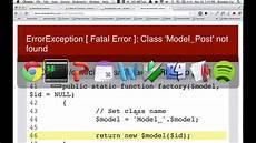 kohana a lightweight php framework youtube