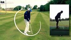 swing club golf swing direction and club path
