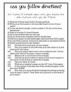 following directions worksheets for 2nd grade 11808 image result for following directions worksheet middle school beginning of school teaching