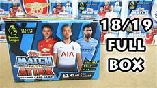 new match attax 18 19 booster box opening 100 club