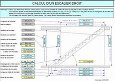 Calcul D Un Escalier Droit