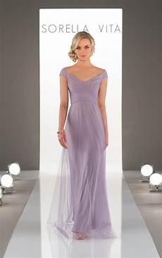 bridesmaid gowns romantic soft bridesmaid dress sorella vita