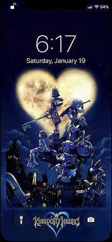 Kingdom Hearts Iphone Xs Max Wallpaper