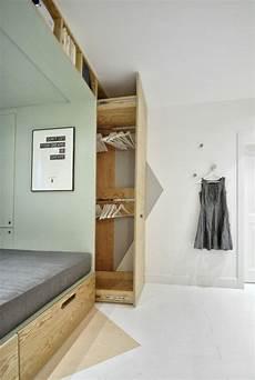 platzsparende möbel schlafzimmer idee f 252 r die einrichtung ein platzsparender