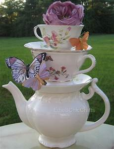 Tea Centerpieces