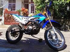 F1zr Modif Motocross by Koleksi Modifikasi Motor Jupiter Mx Jadi Trail Terlengkap