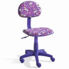 chaise bureau enfant chaise bureau violette