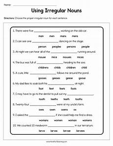 classifying nouns worksheets for 3rd grade 7977 plural nouns worksheets teaching