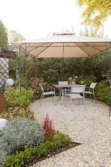kies terrasse jardin kies terrasse kiesterrasse und