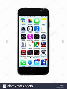 White Background Iphone by The New Apple Iphone 6 On A White Background Showing The