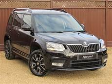 Used Black Magic Metallic Skoda Yeti For Sale Cambridgeshire