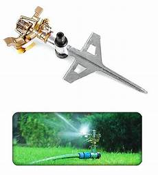 professional impuls metal spike garten sprinkler