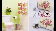Craft Ideas For Bathroom Diy Home Decor 2017 Diy Bathroom Tin Cans Diy Crafts