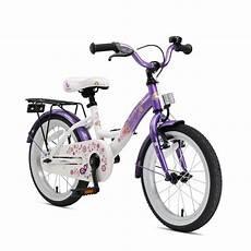 bi 16 kk 01 lcwe bikestar 16 zoll kinderfahrrad lila weiss