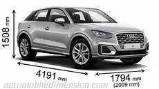 Audi Q2 2016 Dimensions Boot Space And Interior