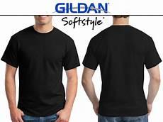 Jual Kaos Polos Hitam Gildan Softsyle 63000 Di Lapak