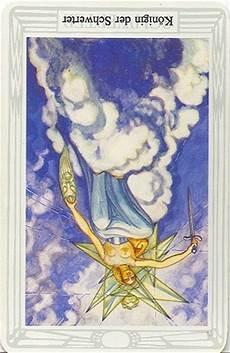 Königin Der Schwerter - tarotkarte k 246 nigin der schwerter