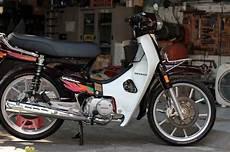 Honda Prima Modif by Honda Astrea Prima Istimewa Tang Ori Plus Modifikasi