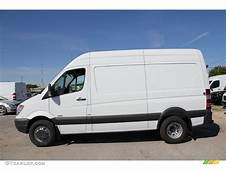 Arctic White 2011 Mercedes Benz Sprinter 3500 High Roof