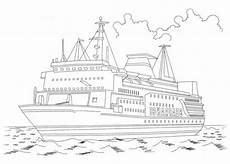 schiffe 4 ausmalbilder ausmalen ausmalbilder kinder