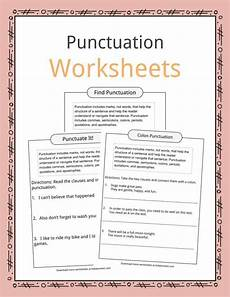 punctuation worksheets using commas 20910 punctuation exles worksheets description for