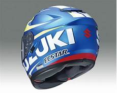 new product shoei gt air helmet suzuki motogp available